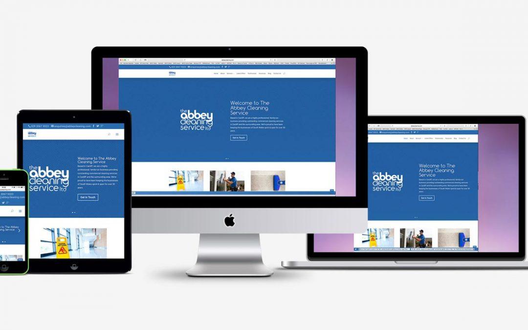 New Responsive Website for Abbey