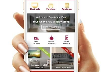 Buy As You View New Homepage Mockup