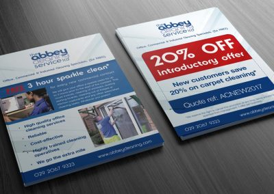 Abbey Cleaning Flyer