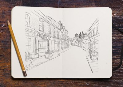 The East Street Deli Sketch