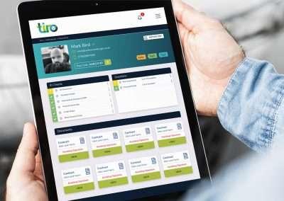 Tiro iPad Mockup