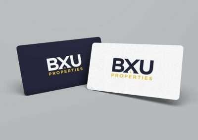 BXU Properties Business Card